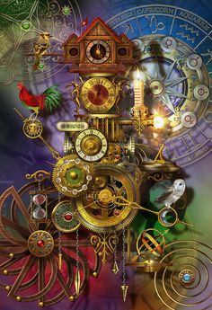 Its About Time Digital Art  - Its About Time Fine Art Print