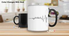 Jesus Heartbeat Color Changing Mug $8.99