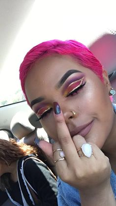 """When someone says """"Guys don't like it when you wear so much makeup. You're basically lying to them"""""""