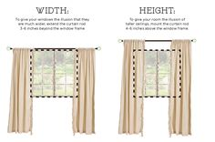 How to hang curtains correctly