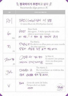 A Big Hit liberou na manhã do dia 5 de junho a segunda parte dos perfis dos membros do BTS., , Dessa ...