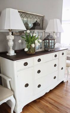 Bedroom furniture redo look