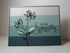 """By ladybugg61 at Splitcoaststampers. Uses Memory Box """"Wild Blooms"""" die."""