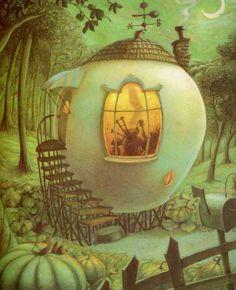 Children's / imaginative Illustrations: Helen Cooper - Pumpkin Soup #Boden #magicalmenagerie