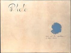 El sueño abstracto  Este es el color de mis sueños (Joan Miró)