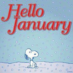 winter, 2014, month, charli brown, snoopi, snoopy, new years, peanut gang, hello januari