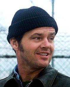 Jack Nicholson em Um estranho no Ninho, clássico de Milos Forman.