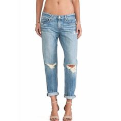 """NWT Rag & Bone Boyfriend Fit Jeans Brand new with tags Rag & Bone boyfriend fit jeans. Wash: Moss with Holes. Cotton. Size 28. They have a 9"""" rise and 29"""" inseam. Amazing fit! rag & bone Jeans Boyfriend"""