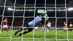 Lukas Podolski scores the first goal against Denmark during the UEFA EURO 2012 Group B Match UEFA.com