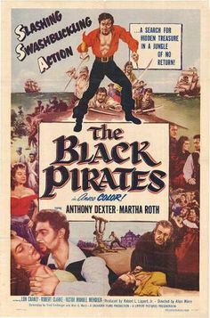 The Black Pirates Movie Poster