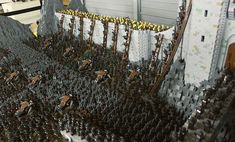 Battle for Helms Deep made by LEGO