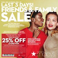 "Macy's Friends and Family Sale is still going strong! Right now, you can ""save on the designers that rarely go on sale"" and take an extra off with the promo code FRIEND. Here are some of the hot deals you'll find: Deal not available Deal . Sale Banner, Friends Family, Banners, Shit Happens, Day, Banner"