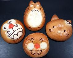 Kawai breads via Inside Japan Centre blog
