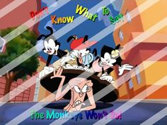 Animaniacs Edible Cake Topper Frosting 1/4 Sheet Image #10