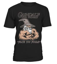 GAINDALF THE SWOLE T-SHIRT for Gym Lover Gandalf T-shirt