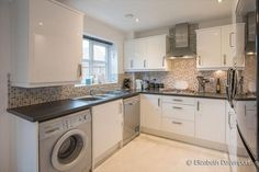 3 bedroom semi-detached house for sale in Gwendolyn Drive, Copsewood, Coventry - Rightmove. Stacked Washer Dryer, Washer And Dryer, Morris Homes, Home Appliances, Beautiful, House Appliances, Washing And Drying Machine, Domestic Appliances
