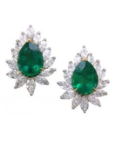 "See the ""Emerald-and-Diamond Earrings"" in our  gallery"