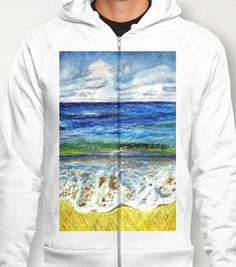 #Society6                 #love                     #CRAYON #LOVE #Hoody #Stephanie #K?hl #Society6     CRAYON LOVE - La mer Hoody by Stephanie K?hl | Society6                                                 http://www.seapai.com/product.aspx?PID=1781698