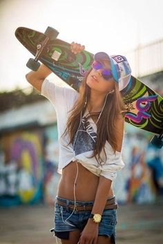 longboard and street style