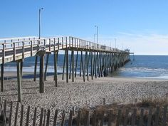 Pictures of Long Beach Pier - Oak Island, North Carolina (NC)