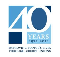 LOGO: WOCCU Turns 40 | World Council of Credit Unions