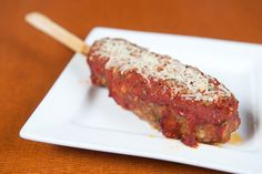 Stuffed Italian Meatloaf On-a-Stick | The Minnesota State Fair Announced Its 2015 Foods And They're Insane