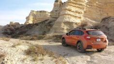 11.01.13 - Photo by Leaton Wright - Subaru Crosstrek in the desert