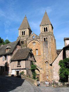 L'abbatiale Sainte-Foy de Conques, Aveyron
