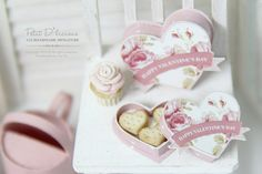 Valentine's Day Heart Cookies in Heart Shaped by PetitDlicious