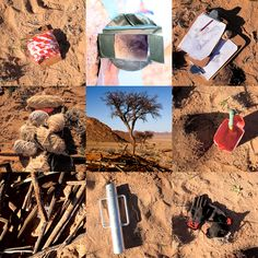 Earth drawing tools on site at Klein-Aus Vista, Namib Desert. Photos by Gwen Meyer. Earth Drawings, Namib Desert, Nature Artwork, Drawing Tools, Art Projects, How To Find Out, June, Photos, Crafts