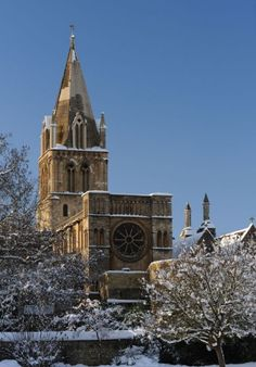 Christ Church Cathedral in Oxford is unusual in that it is part of another building, Oxford University's Christ Church college. It is also one of the country's smallest cathedrals.  Picture: Alamy