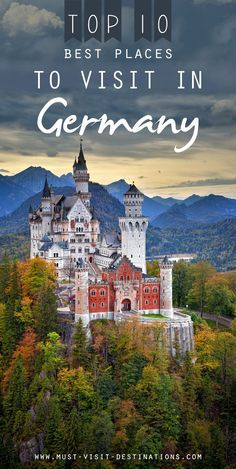 TOP 10 Best Places to Visit in Germany - culture travel Europe Travel Tips, European Travel, Travel Destinations, Travel Goals, Holiday Destinations, Italy Travel, Travel Guide, Oh The Places You'll Go, Cool Places To Visit