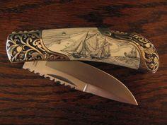 his pocket knife