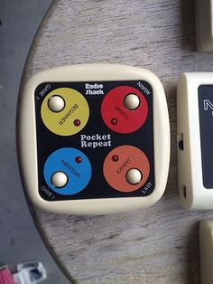 Radio Shack Pocket Repeat - had this in lieu of Simon - LOL!  #80s