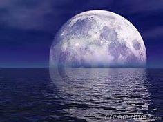 full moon on ocean - Bing Images