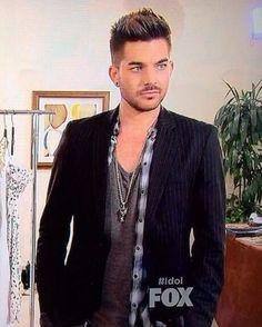Adam Lambert mentoring on Idol