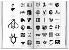 A new book of different logos shows that in graphic design, Modernism is still alive. Corporate Logo Design, Best Logo Design, Branding Design, Corporate Identity, Visual Identity, Brand Identity, Typography Logo, Logos, 10 Logo