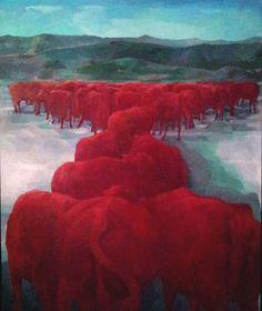 'Vacas Rojas' - Myrna Baez