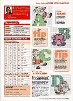 alfabeto di Natale con Babbo Natale (1)