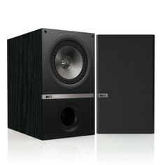 KEF Q300B Bookshelf Loudspeakers  Black Ash Pair >>> Check out this great product.