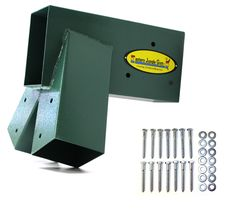 The Eastern Jungle Gym Easy A-Frame Swing Set Bracket makes building a Swing Set easier than ever! Let us take the guess work out of your DIY swing set wi Swing Set Parts, A Frame Swing Set, Play Swing Set, Outdoor Swing Sets, Metal Swing Sets, Backyard Swing Sets, Diy Swing, Backyard For Kids, Outdoor Ideas