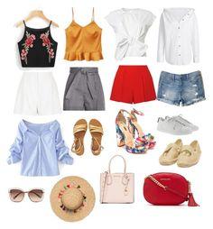 Designer Clothes, Shoes & Bags for Women Billabong, Alice Olivia, Hollister, River Island, Yves Saint Laurent, Mango, Shoe Bag, Summer, Polyvore