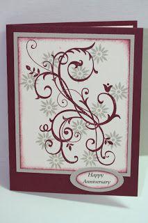a beautiful card! My Creative Corner!: Anniversary Cards