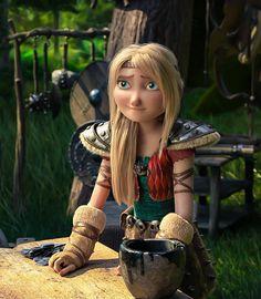 """el-strider: """"She is so cute! I can't breathe… """" Dreamworks Dragons, Dreamworks Animation, Disney And Dreamworks, How To Train Dragon, How To Train Your, Hiccup Y Astrid, Hicks Und Astrid, Dragon Defender, Memes Arte"""