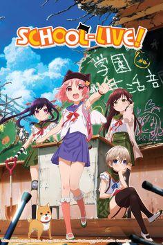 Sentai Filmworks Unveils School-Live! Dub Cast, Streams Four Dub Teasers by Mike Ferreira
