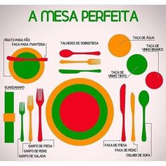 A mesa perfeita! 🍴