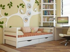 Односпальная кровать Камалия