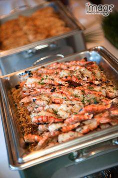 Wonderful summer seafood option at The Lodge! #Seafood #BuffetDinner #HappyHour #Weddings #WeddingFood #MSL #TheLodgeAtMountainSpringsLakeResort #MadeWithLove