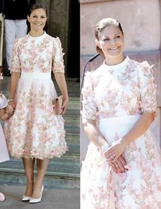Crown Princess Victoria of Sweden 40th Birthday Celebrations at the Royal Palace on July 14, 2017 in Stockholm, Sweden