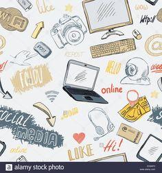seamless-doodle-blog-social-media-marketing-pattern-background-vector-EC8AFH.jpg (1300×1390)